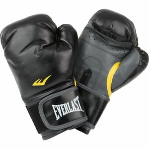 Everlast Classic Black Training Boxing Gloves 12 Oz - New