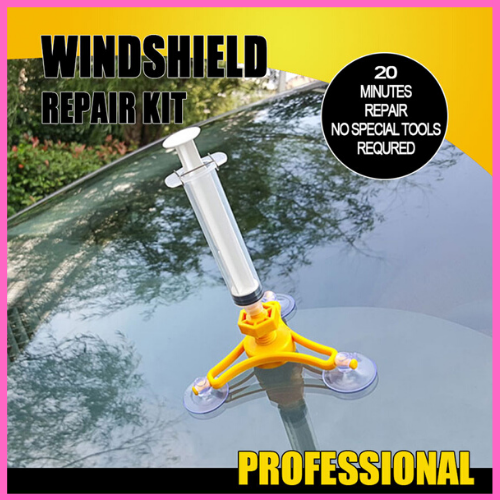 Auto Windshield Repair Tool Maintenance Sets Chip Crack Phone Screen Car Glass