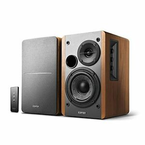 Edifier R1280T Powered Bookshelf Speakers, 2.0 Active