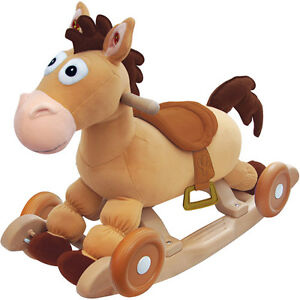 Disney My Rocking Toy Story BULLSEYE Rocking Horse, With Realistic Pony Sounds