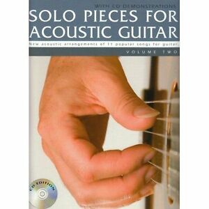 Solo Pieces for Acoustic Guitar - Volume Two (Book & CD) by Mark Currey  (Paperback, 1991)