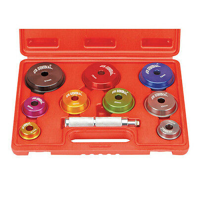 10 Piece Bearing Race and Seal Driver Set With Case