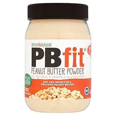 BetterBody PBfit Powdered Peanut Butter Powder - 225g