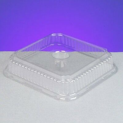 Genpak 95304 Clear Dome Lid For Genpak 5530 4 Cup Muffin Pan 250 Case