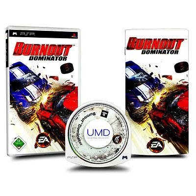 Playstation Portatile - gioco PSP BURNOUT DOMINATOR - Gioco di corsa Istruzioni