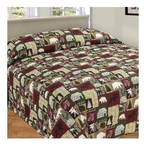 Log Cabin Bedding Ebay