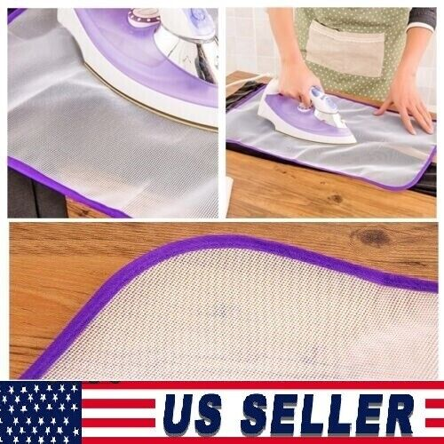 Protective Ironing Cloth High temperature Press Iron Mesh Insulation Pad Guard