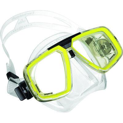 Maske Aqua Lung LOOK Tauchmaske Silikon der Klassiker optische Gläser optional