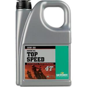 Motorex Top Speed 4T Oil 15W50 4L.     102304