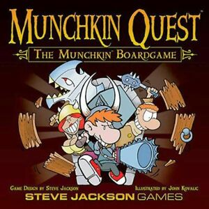 Munchkin Quest Board Game (Almost New)