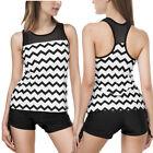 Striped Tankini Swimwear for Women
