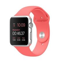 Apple Watch Sport 38mm Silver Aluminum Case with  Pink Band  Pre-ordered