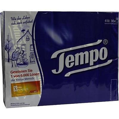 TEMPO Taschentücher ohne Menthol 30X10 St PZN 7312004
