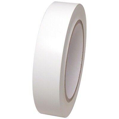 White Vinyl Tape 1 Inch X 36 Yd. 1 Roll. Spvc