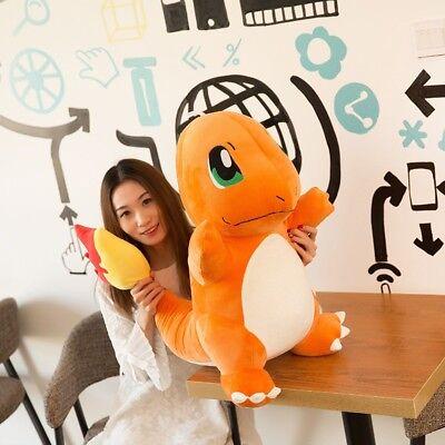 "20"" Pokemon Center Large CHARMANDER Plush Toy Nintendo Pokemon GO Doll CA"