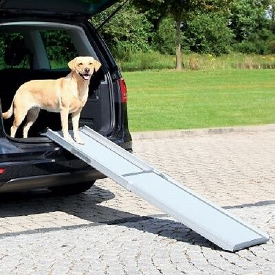Best Dog Ramp Car Space Saving Telescopic Helps Anxious Young Old Weak ill dogs