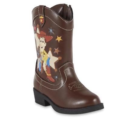 NEW Boys Toddler Disney TOY STORY Woody Western Cowboy Boots Sz 6, 7, 9, 10 12 - Toy Story Toddler