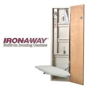 NEW IRON-A-WAY IRONING CENTER - 114677897 - PREMIUM WITH SWIVEL
