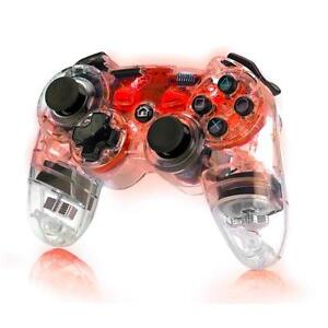 PDP Afterglow Wireless Controller - PS3 - Red (No Box)