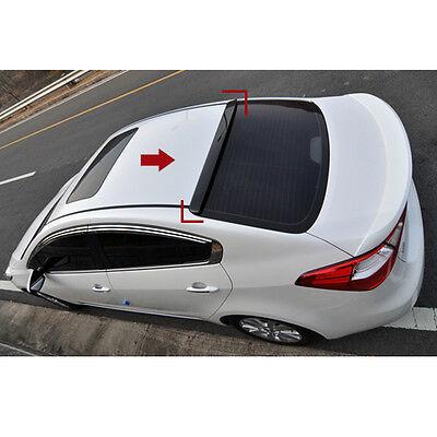 Rear Glass Roof Wing Spoiler ABP For 2013 2014 Kia Forte K3