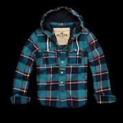 Hollister Hooded Shirt