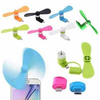 Portable Mini Micro USB Mobile Phone Fan Cooling iPhone Android Phone iPad