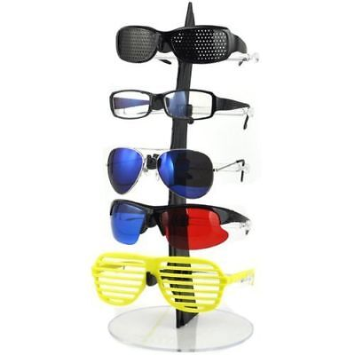 Practical 5 Layers Eyeglasses Sunglasses Glasses Display Stand Rack Holder Tool