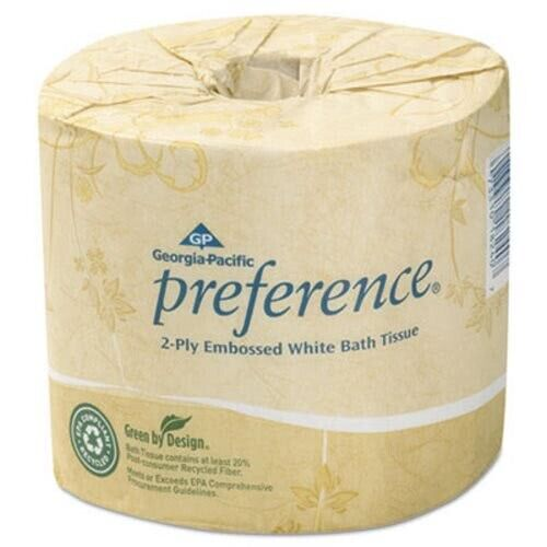 Preference Standard 2-Ply Toilet Paper Rolls, 80 Rolls (GPC1828001)