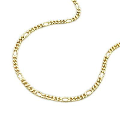 Juwelier Figaro Hals Kette Stärke 1,9 mm aus Echt Gold 333 (8 Kt) Gelbgold Neu