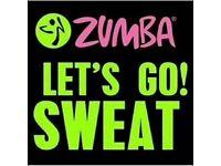 Zumba fitness dance salsa class Marston Green, Solihull