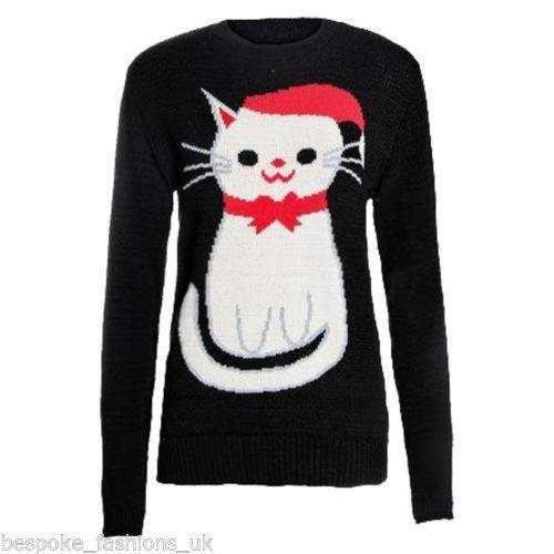 Cat Christmas Jumper Ebay