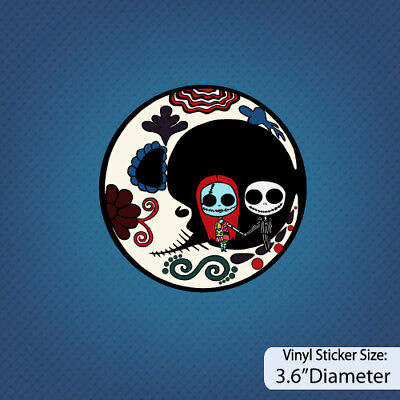 Nightmare Before Christmas /Jack and Sally/Version D / Disney/Halloween/ Sticker](Halloween Jack And Sally)