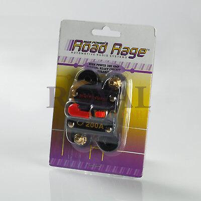 High Power 200 Amp Manual Reset Circuit Breaker 12V Car Auto Boat Audio - High Amp Circuit Breaker Car