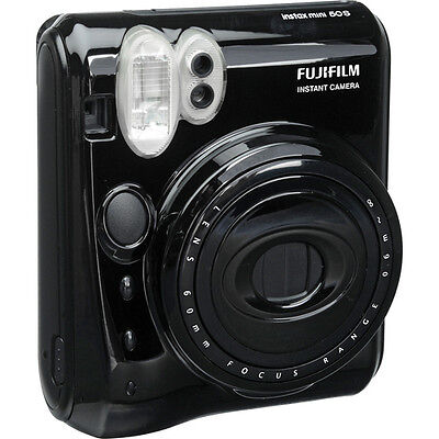 Fuji Instax Mini 50s Instant Print Film Camera (Piano Black) - NEW