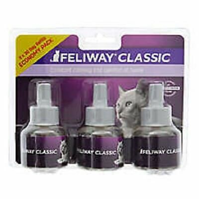 Feliway Classic Diffuser Refills For Cats & Kittens 3 Pack