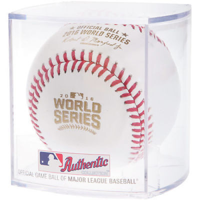 Rawlings 2016 World Series Official MLB Game Baseball Chicago Cubs - Cubed Chicago Cubs Baseball Cube