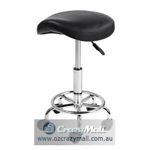 Saddle Swivel Height adjustable stool for salon Melbourne CBD Melbourne City Preview