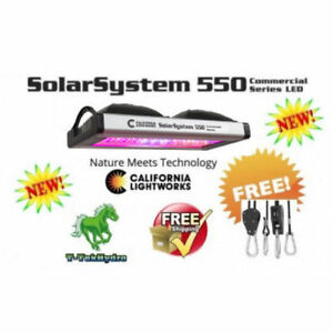 TTHYDROPONIC: SolarSystem 550 Commercial LED Grow Lights