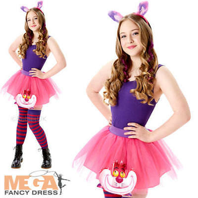 Cheshire Cat Tutu Set Ladies Fancy Dress Disney - Disney Cheshire Cat Kostüm