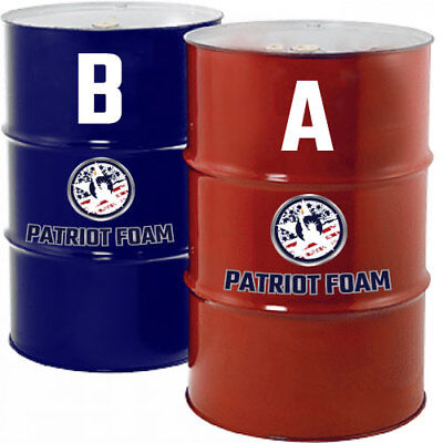 Patriot Foam 300gr Closed Cell Roofing Spray Foam In 55 Gallon Drum Sets
