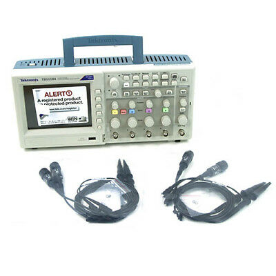 Tektronix Tbs1104 100 Mhz 4-ch 1 Gss Digital Storage Oscilloscope