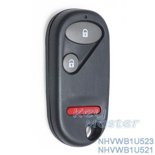 for Honda Civic Pilot Replacement Keyless Entry Remote Key Fob NHVWB1U521/ 23