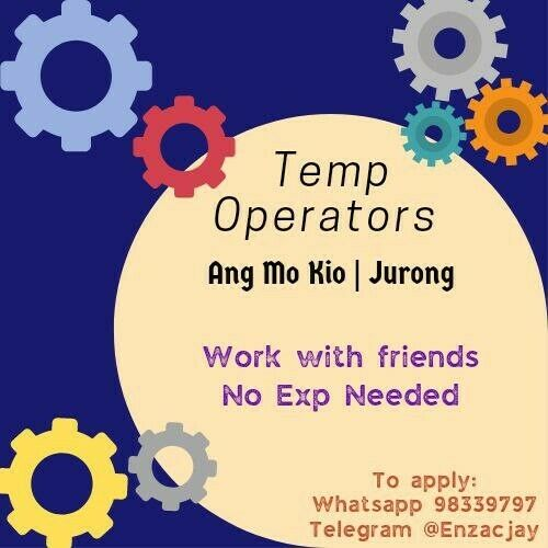 ⭐ Electronic Operator @ Ang Mo Kio ⭐ No Exp Needed + Work with friends⭐ [Day/Noon/Night] ⭐ AIRCON ⭐