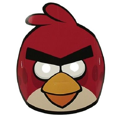 6er Pack Partymasken Angry Birds