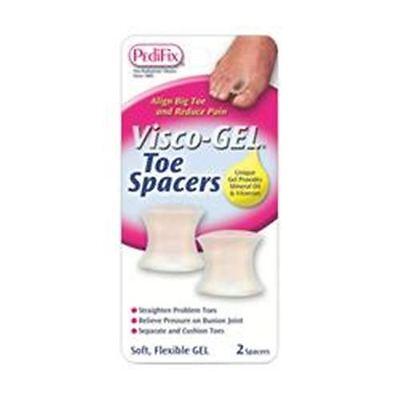 PediFix Visco-Gel Toe Spacers, Large 2 (Visco Gel Toe Spacers)