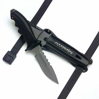 как выглядит Нож для дайвинга Atomic Aquatics Ti6 Titanium Dive Scuba Snorkeling Knife Point Tip фото