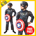 Captain America Costumes for Boys