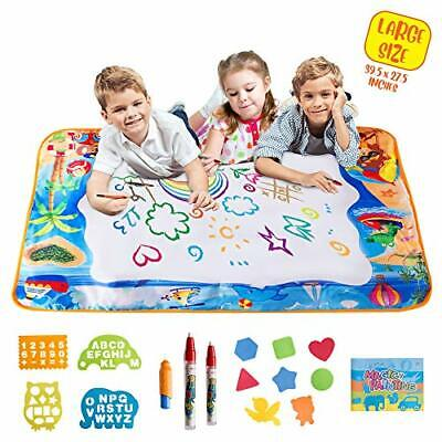 Monkoy Toys Water Doodle Mat – Large Drawing Board for Toddlers, Perfect for