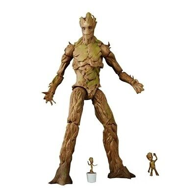 "Marvel Guardians of the Galaxy Evolution of Groot Action Figure 6"" Exclusive!"