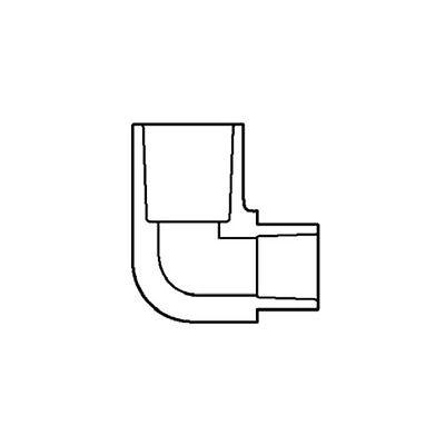 406-211 PVC 90° Reducing Ell Ellbow 1 1/2